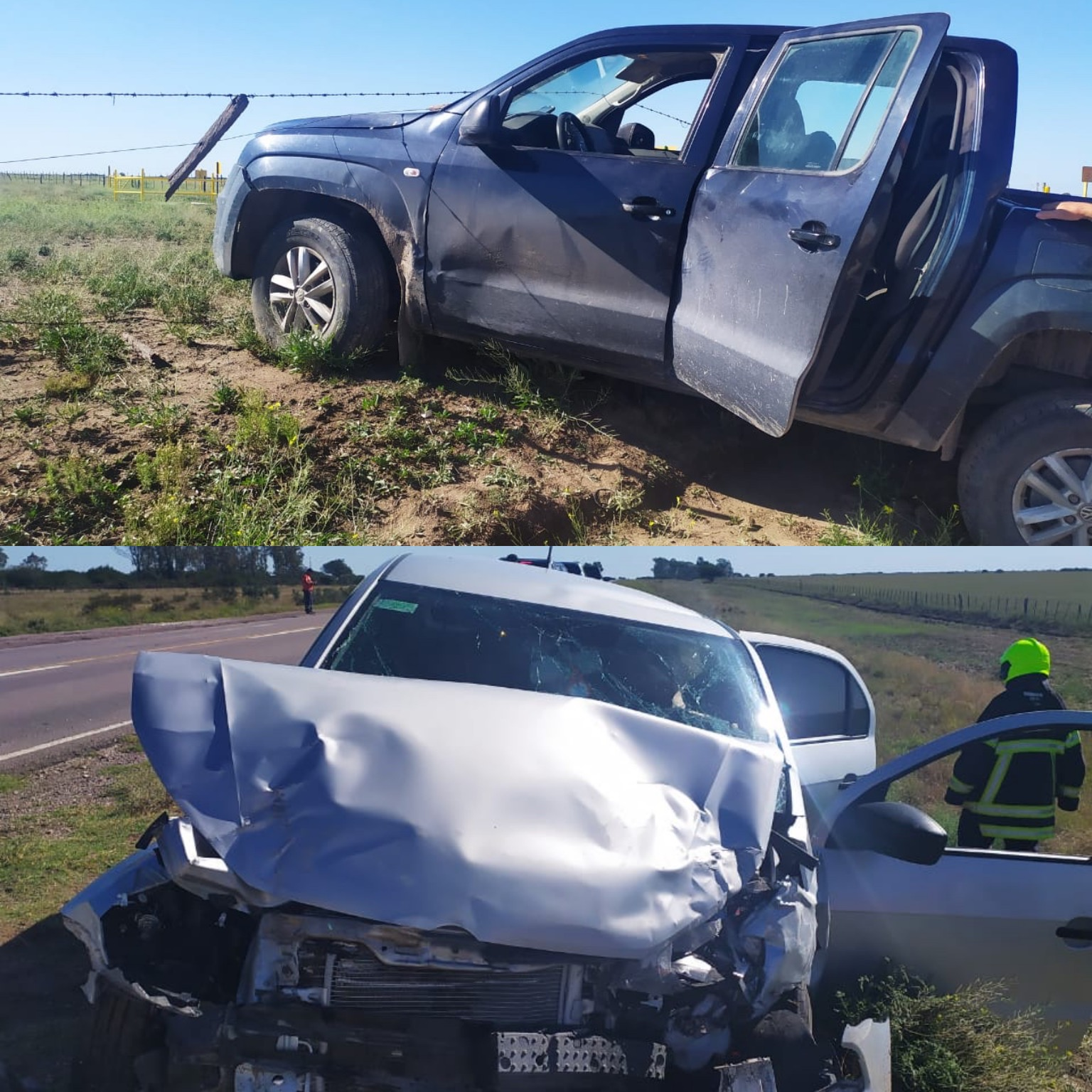ACCIDENTE EN CERCANÍAS DE ALGARROBO